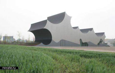 Новое здание выставочного центра Cumulus от JJ. MAYER H. Architects