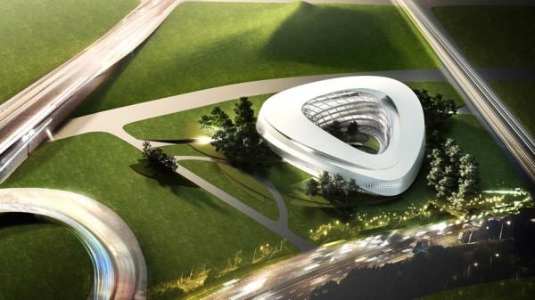 Проект библиотеки Dalian library от Architects Collective в Даляне (Китай)