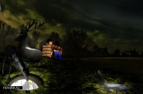 Проект Deer Grotto. «Подземное» расширение коттеджа от  Visiondivision