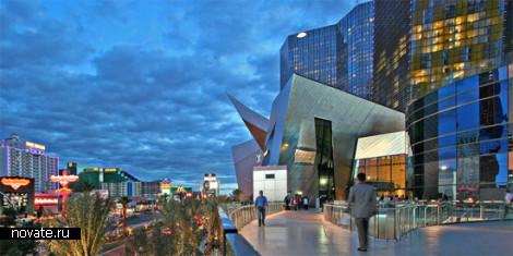 MGM Mirage от Даниэля Либскенда. Футуристический хаос в центре Лас-Вегаса