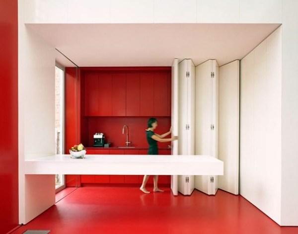 Встроенная кухня для помещений со