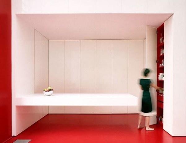 Встроенная кухня от dmvA Architecten