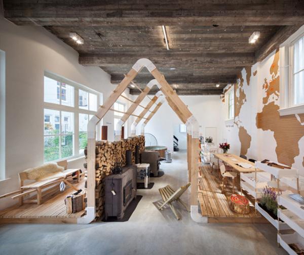 Экспериментальный бутик-отель Droog в Амстердаме