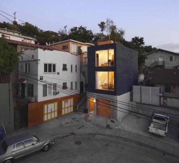 Eels Nest - реконструкция жилого дома в Лос-Анджелесе