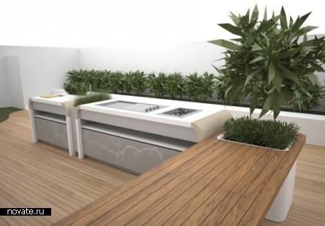 Модель кухни Outdoor Kitchen от Electrolux