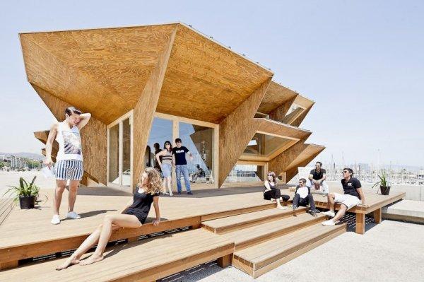 Endesa Pavilion – экономичное эко-жилье от IAAC