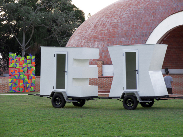 Exile – архитектурная инсталляция, представленная в рамках 11-й биеннале в Гаване (Куба)