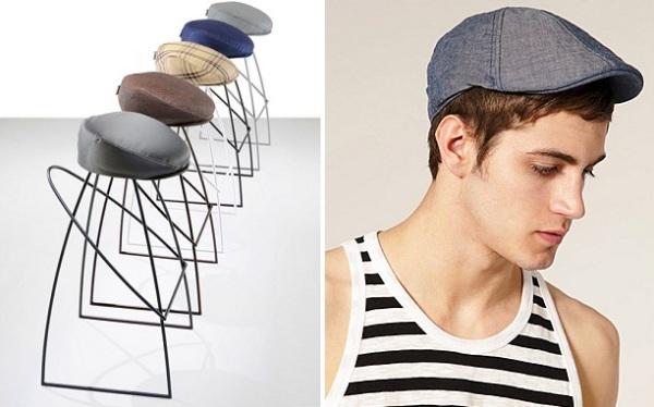 Креативные барные стулья от Fabio Vinetta