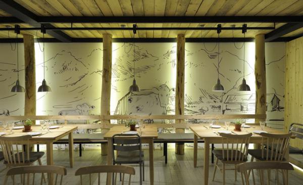 Ресторан Fabrica Kreaton в Греции