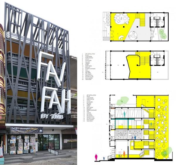Fai-Fah – креативный центр для обездоленных детей в Бангкоке (Таиланд)
