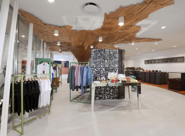 Интерьер бутика Fantastique canopee в Токио (Япония)