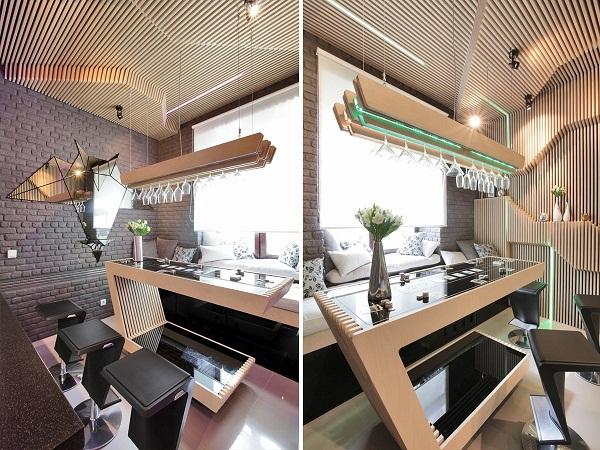 ParametriX Kitchen – динамичное пространство кухни от Geometrix Design