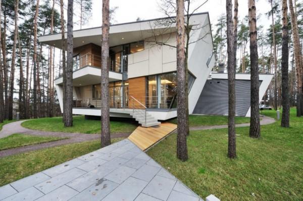 House in Gorky-6 - концептуальный жилой дом от Atrium Architects