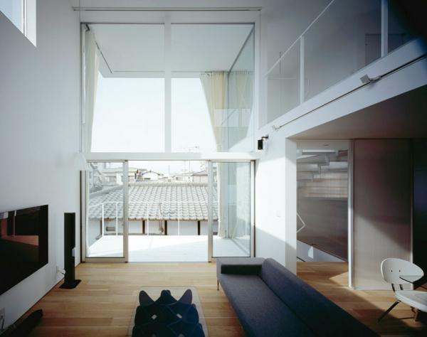 House in Hikarimachi - трехэтажный жилой дом от Rhythmdesign в Японии