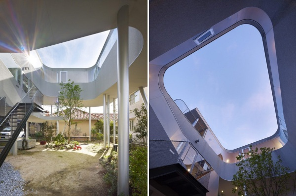 Жилой дом Toda House in Hiroshima от Кимихайко Окада (Kimihiko Okada)