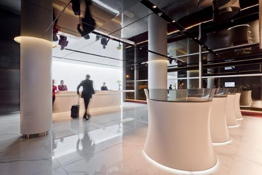 The Cabin зал ожидания международного аэропорта Cathay Pacific в Гонконге
