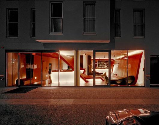 Интерьеры немецкого отеля Hotel Q от GRAFT