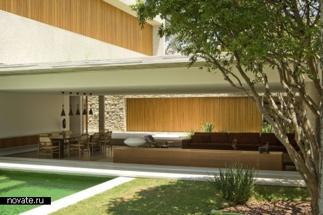 Частная вилла House 6 в Сан-Паулу (Бразилия)
