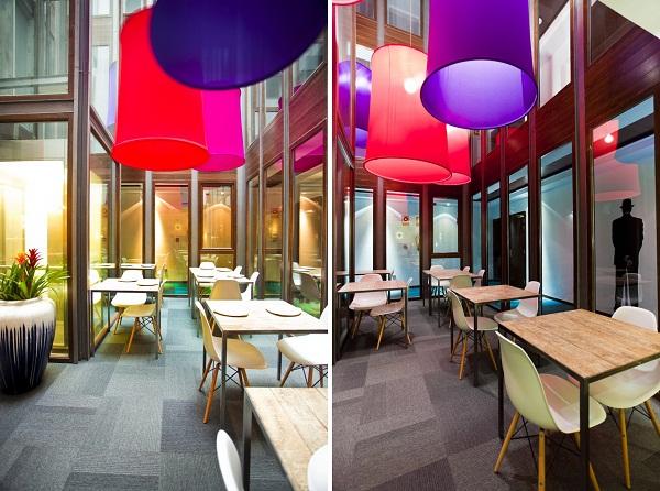 Интерьеры Hotel Portago Urban от ILMIODESIGN