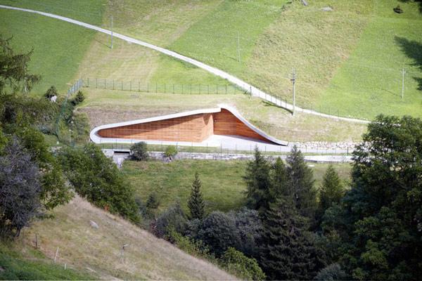 Yet Noninvasive Hydroelectric Power - гидроэлектростанция от Monovolume architecture + design