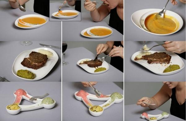 Sensuous Tableware - креативная коллекция посуды от Илана Синая (Ilan Sinai)