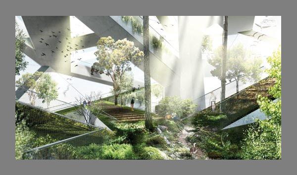 Прогрессивный проект эко-зоопарка на острове Dochodo от JDS Architects