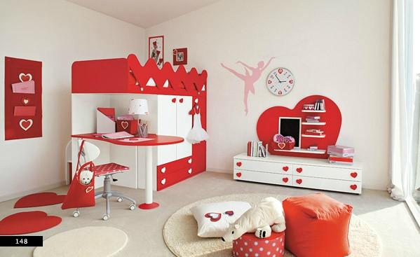 Креативные детские комнаты от итальянских дизайнеров из ColombiniCasa