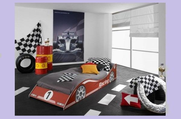 Автомобильная тематика в оформлении детской комнаты