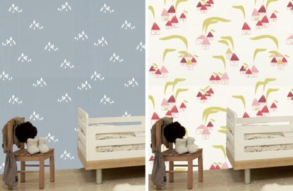 Декоративные обои для детских комнат от Tres Tintas Barcelona