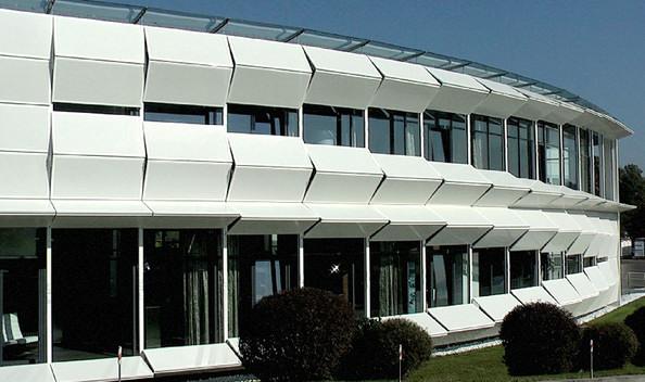 Офисное здание Kiefer Technic Architecture Showroom от Ernst Giselbrecht + Partner в Австрии