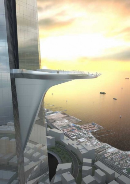 Kingdom Tower � ����� ������� ��������� � ���� �� Adrian Smith + Gordon Gill Architecture