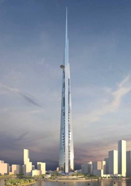 Kingdom Tower – самый высокий небоскреб в мире от Adrian Smith + Gordon Gill Architecture