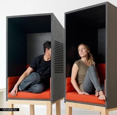 Кресла Сonfessional от Arika Levy