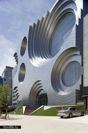 Здание Kring Kumho Compound Culture Space от Unsangdong Architects