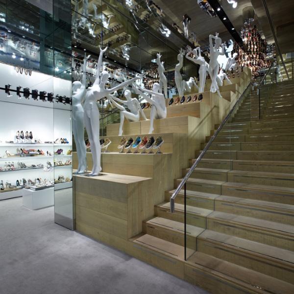 Интерьеры сети бутиков Kurt Geiger Stores в Лондоне (Великобритания)