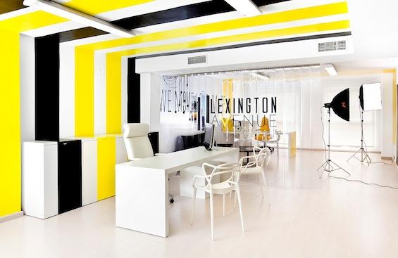 Интерьер офиса испанской компании Lexington Avenue