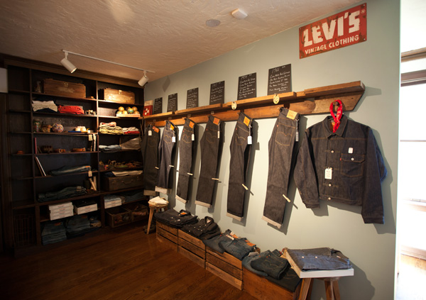 Самый концептуальный бутик бренда Levi's расположенный в Голливуде