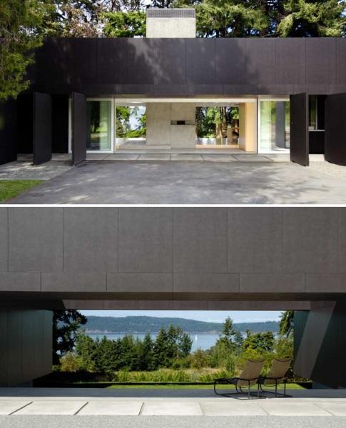 Жилой дом Linear house от Patkau architects