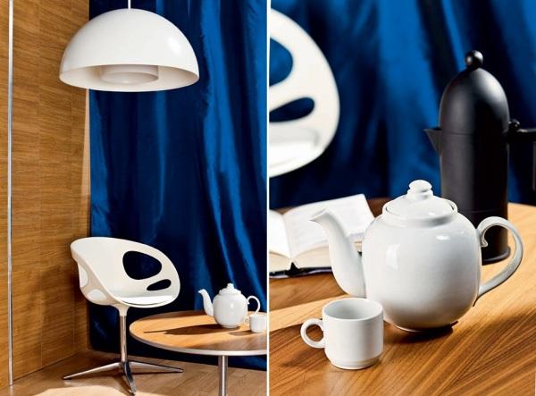 Мини-офис + гостиная + личная лаунж-зона. Идеи для формирования обстановки небольшого пространства