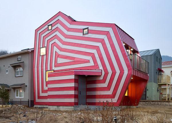 Lollipop House - дом-«конфета» от Moon Hoon в Корее