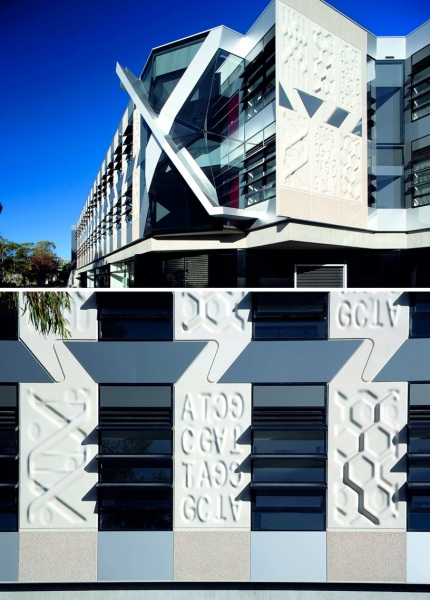 Медицинский исследовательский центр John Curtin school of medical research от Lyons в Австралии