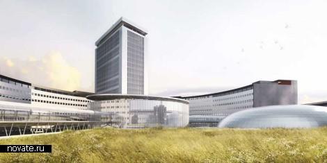 Программа реконструкции здания Maison de Radio France