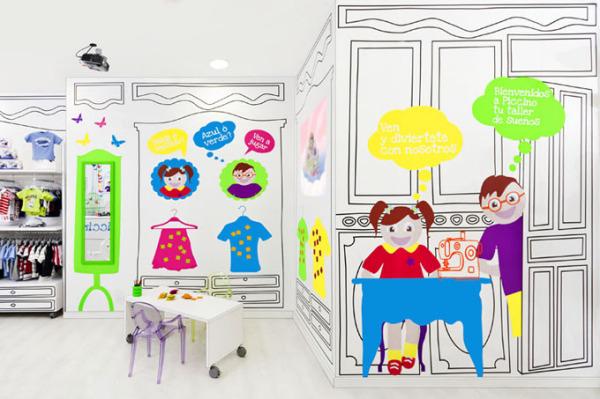 Piccino – креативный бутик детской одежды в Испании