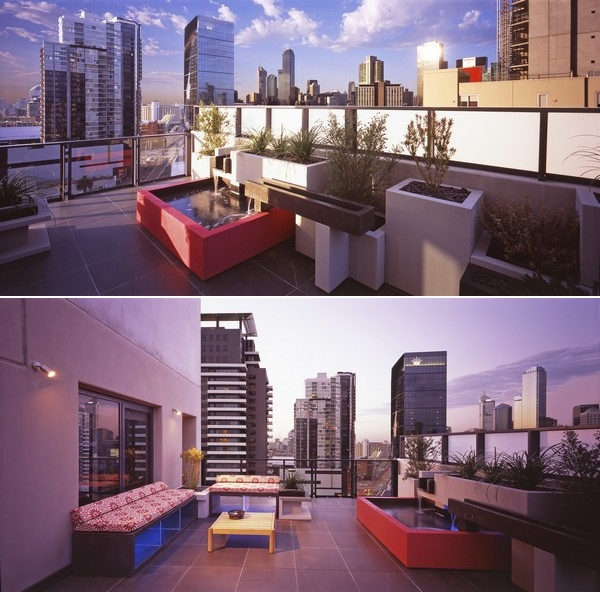 Стильный дизайн открытой террасы от dKO Architecture