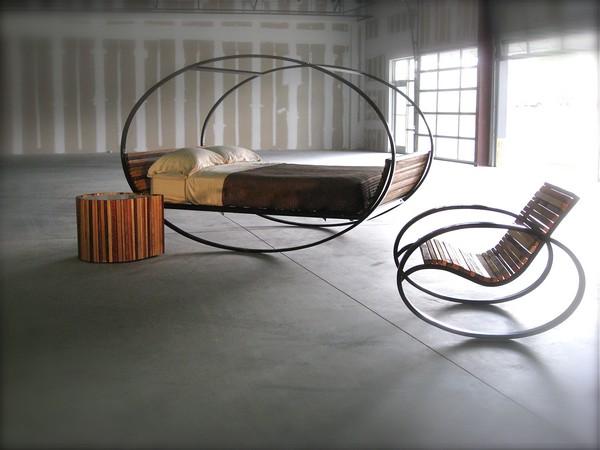 Необычная мебель своими руками из металла