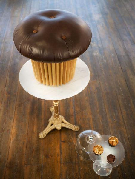 Muffin pouffe - пуф от Маттео Бианки (Matteo Bianchi)