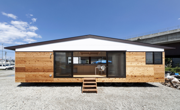 Mobile smile project – мобильный дом для жителей сейсмоопасных районов Японии