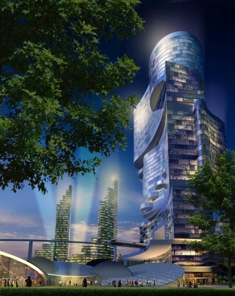 Проект Masterplan for nanjing china от CK designworks