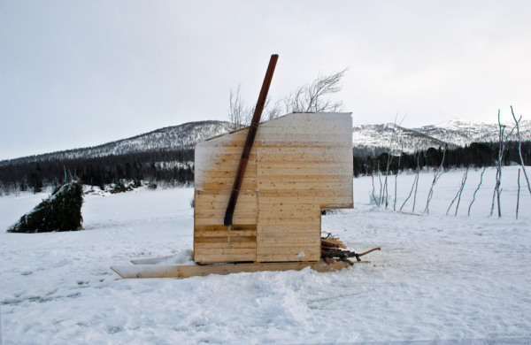 Nomad city - Aurora observatory – кочевой город в норвежских горах