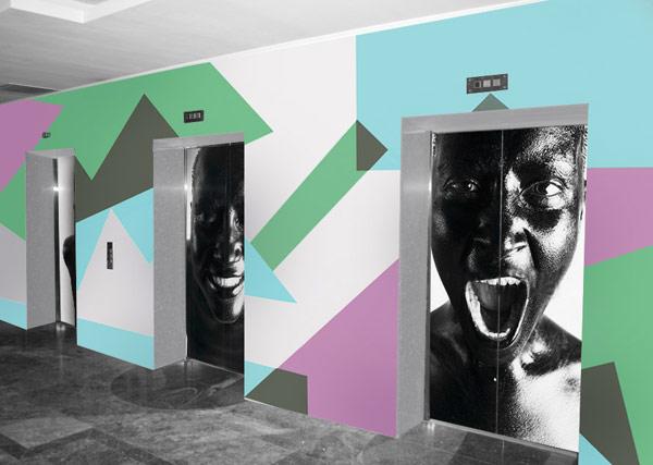 Креативная коллекция декора для лифтов от PIXERS